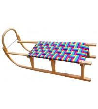 Wooden sled Caucaz