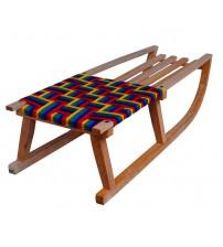 Wooden sledge Himalaya