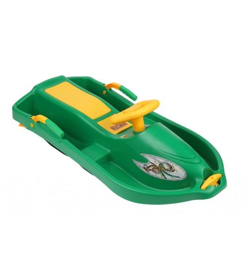 Sanie Snow Boat verde