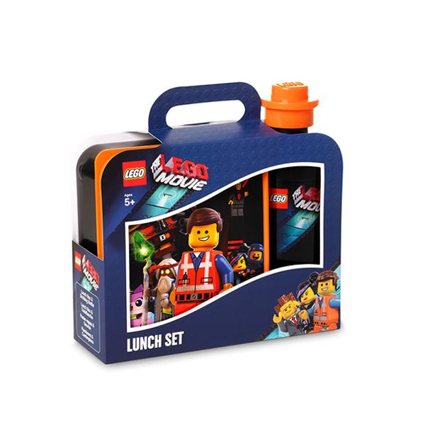 Set pentru pranz LEGO Movie negru