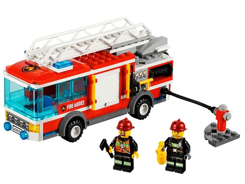 Camion de pompieri LEGO (60002)