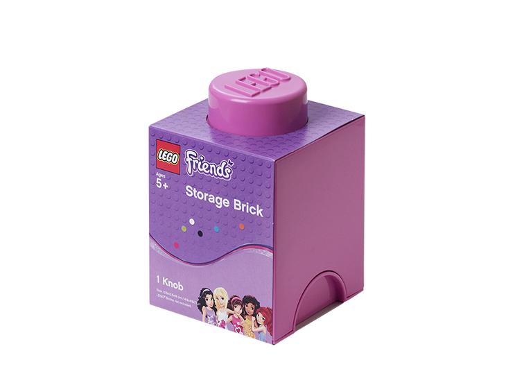 Cutie depozitare LEGO Friends 1x1 roz