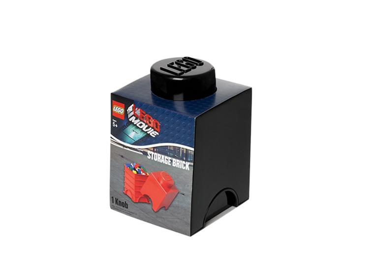 Cutie depozitare LEGO Movie 1x1 negru