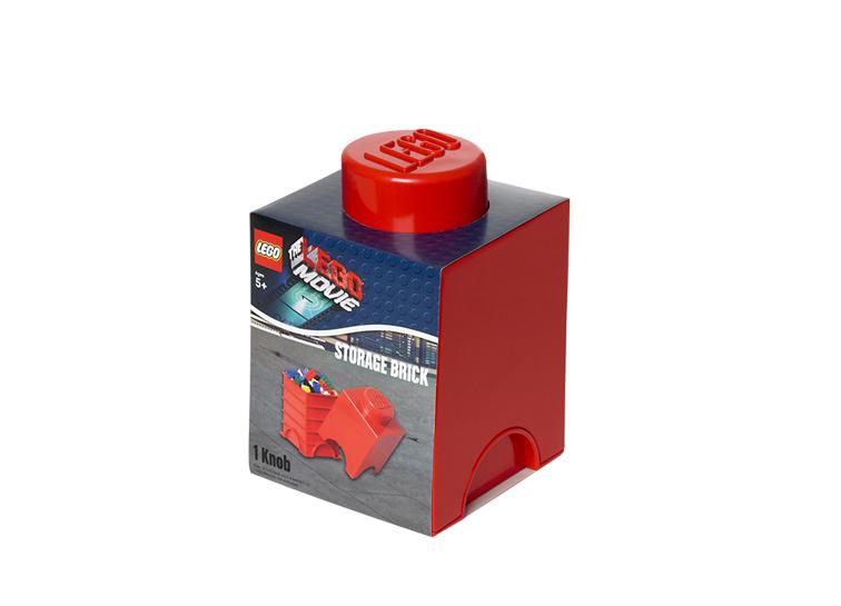 Cutie depozitare LEGO Movie 1x1 rosu