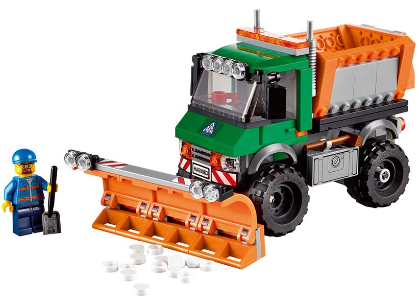Camion cu plug pentru zapada (60083)