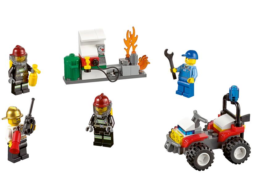Pompieri - Set pentru incepatori (60088)