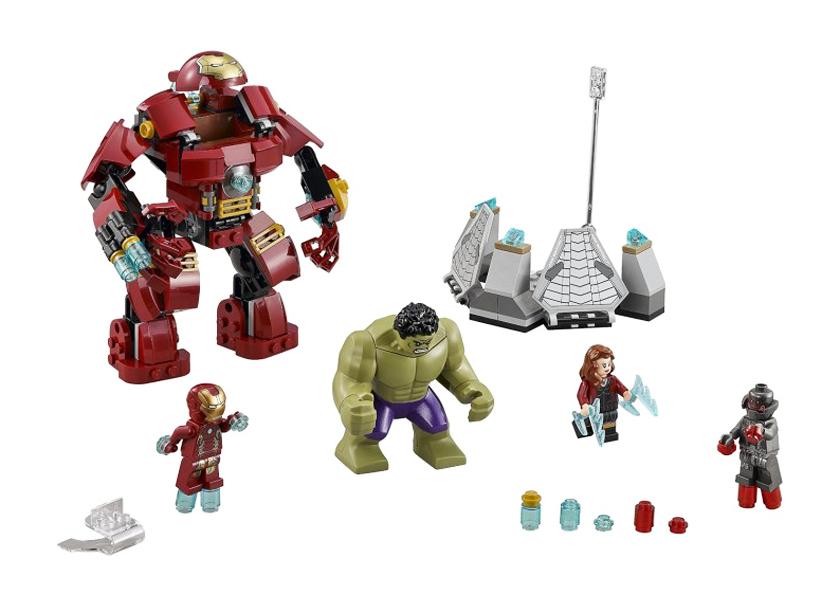 Lovitura Hulk Buster (76031)