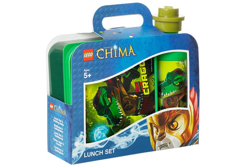 Set pentru pranz LEGO Chima verde