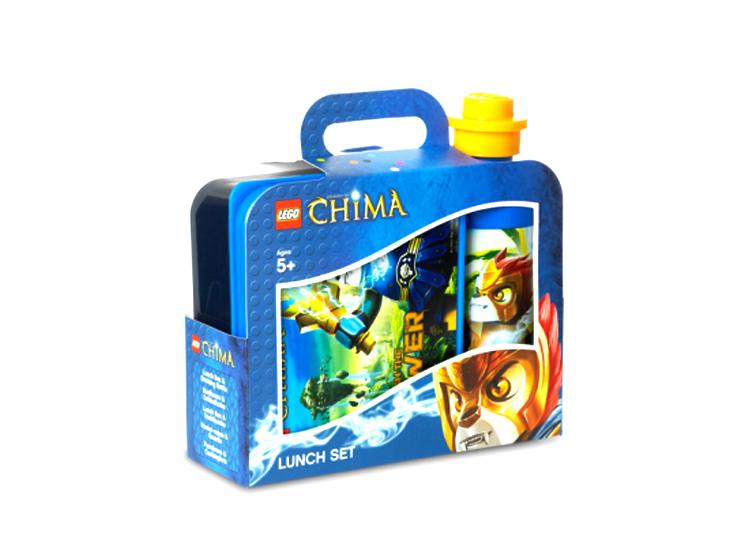 Set pentru pranz LEGO Chima albastru