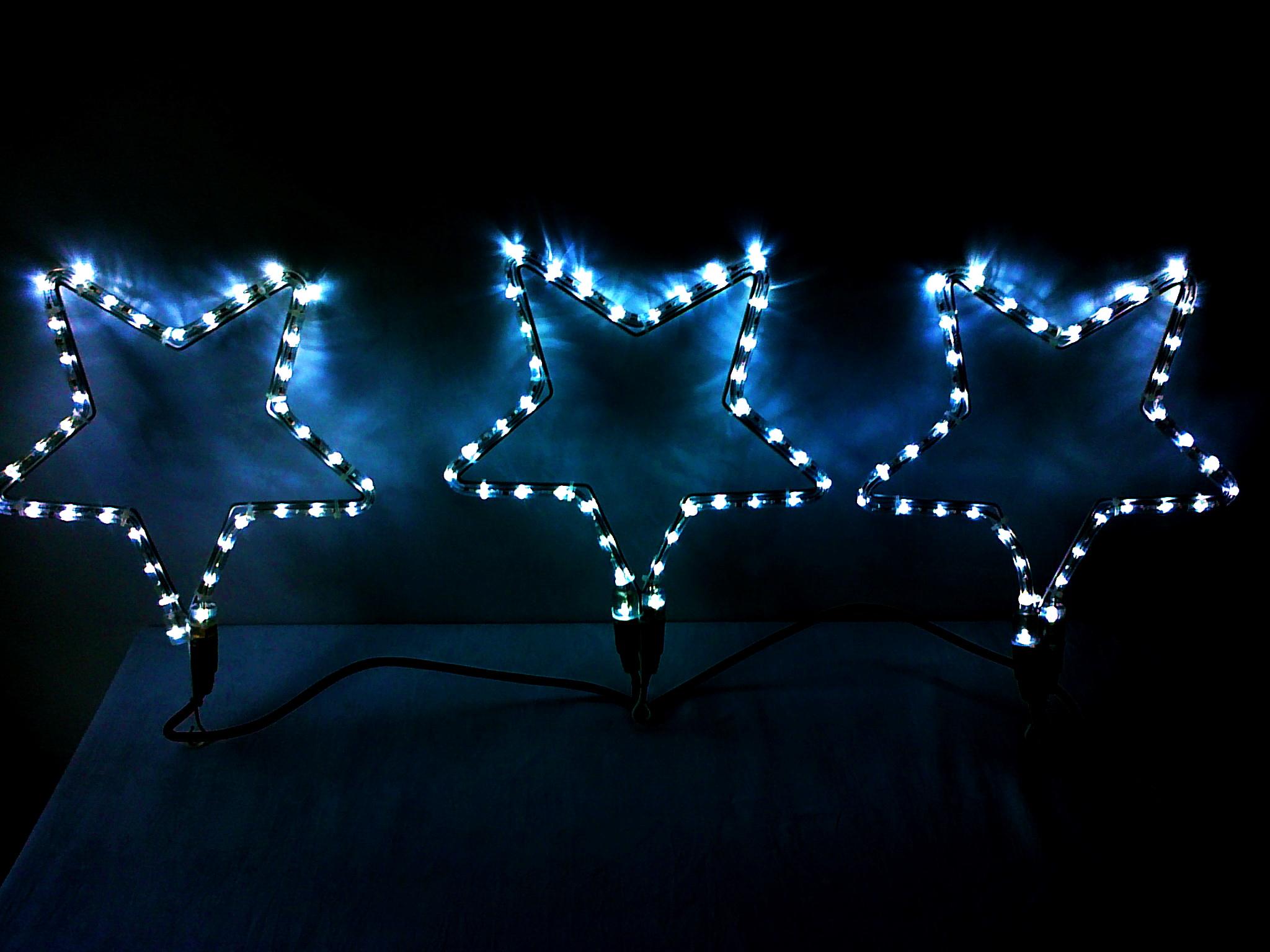 Decoratiune 3 stele 108 leduri